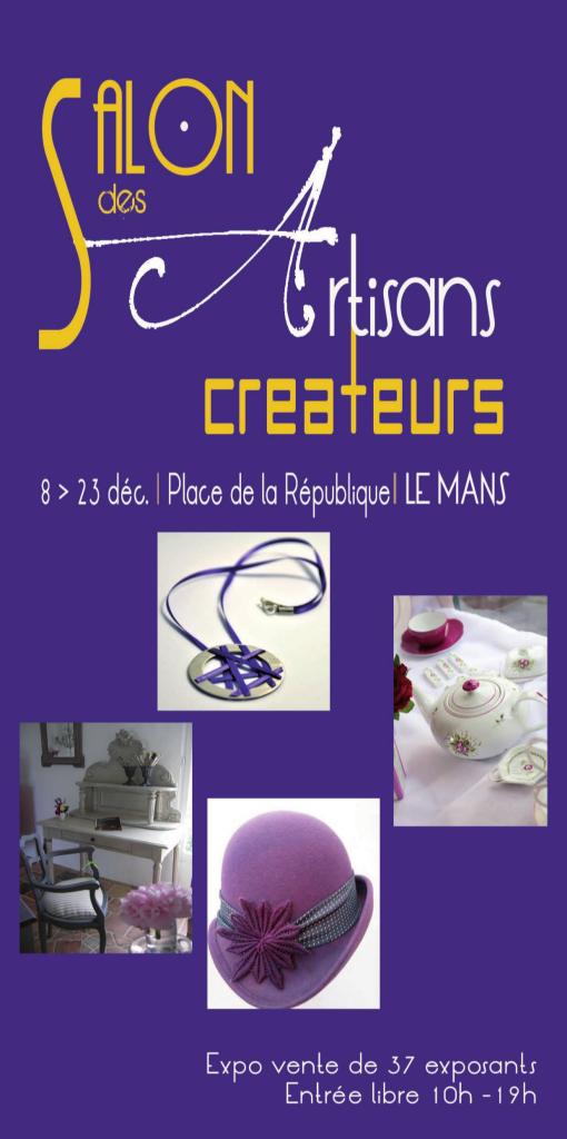 Salon des créateurs 2012 du samedi 8 au Dimanche 23 décembre, de 10h à 19h catalogue2012